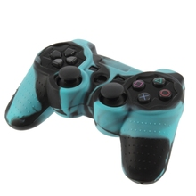 High quality materials Silicone Skin Case Cover for PS2 Controller(China)