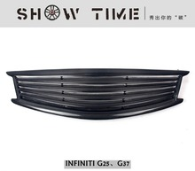 Fit for INFINITI G25 G37 G carbon fiber grill Racing Grills grille(China)
