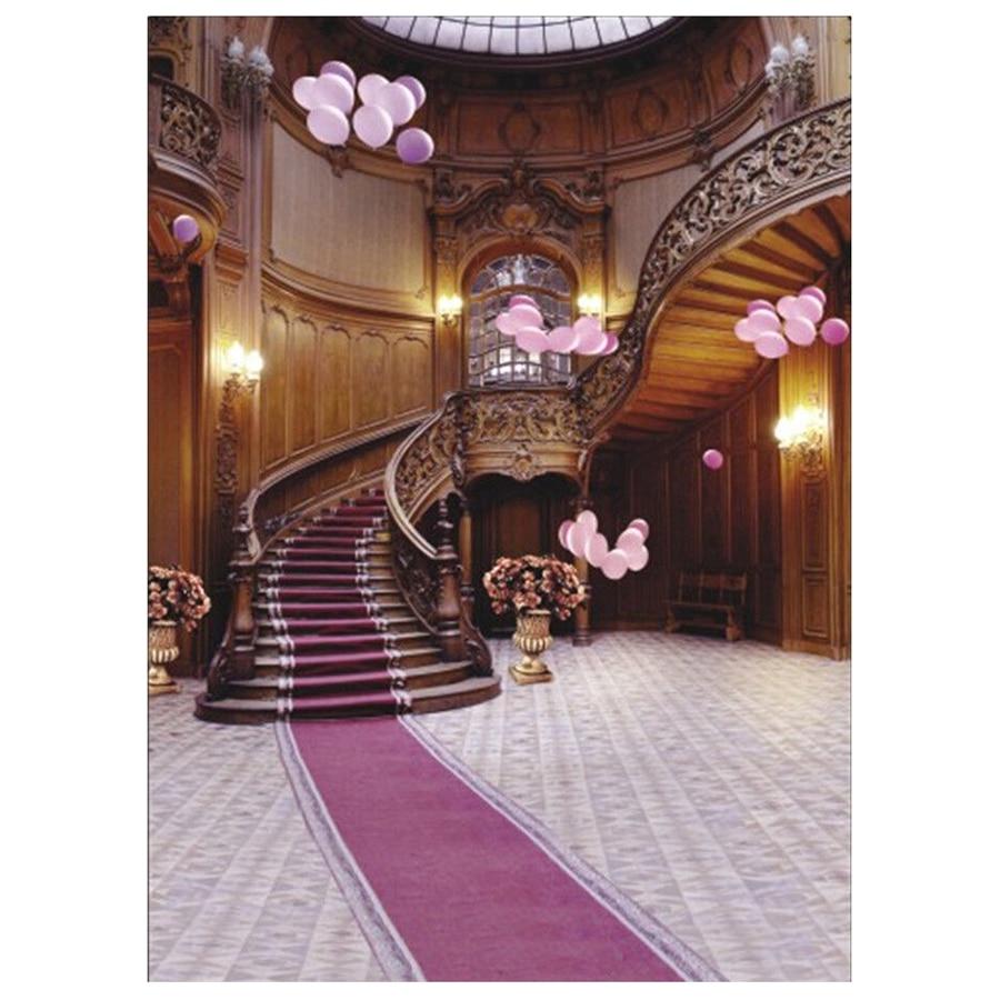 Wholesale5pcs*Indoor Staircase Carpet Vinyl Photography Backdrop Photo Background 5X7FT<br>