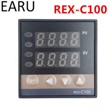 Buy New REX-C100 Digital PID Temperature Control Controller Thermostat Thermometer SSR Solid State Relay Output Universal Input for $11.20 in AliExpress store