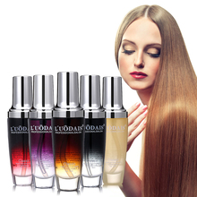 LUODAIS Hair Care Argan Oil Perfume oils Macadamia Nut Oil For Damaged Hair hidratante para cabelo keratin Hair Straightening(China)