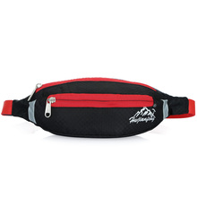 2017 New Unisex Bum Bag Waterproof Oxford Fanny Pack Light Weight Waist Belt Bags Double Zip Pouch(China)