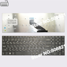 JIGU Russian Keyboard for Acer Aspire V3-551 V3-551G V3-571 V3-571G V3-731 V3-771 V3-771G BLACK RU version(China)