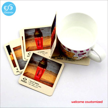 Kitchen, Decoration Drink Cup Mat Disposable Paper Coaster Custom Cup Pad 2017 table mat Free Shipping custom design only(China)