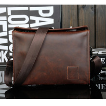 YGDB Handbag Men Messenger Shoulder Bag Small Design Fashion Crossbody Sling Bag Male Lock Catch Vintage Design YZ8133