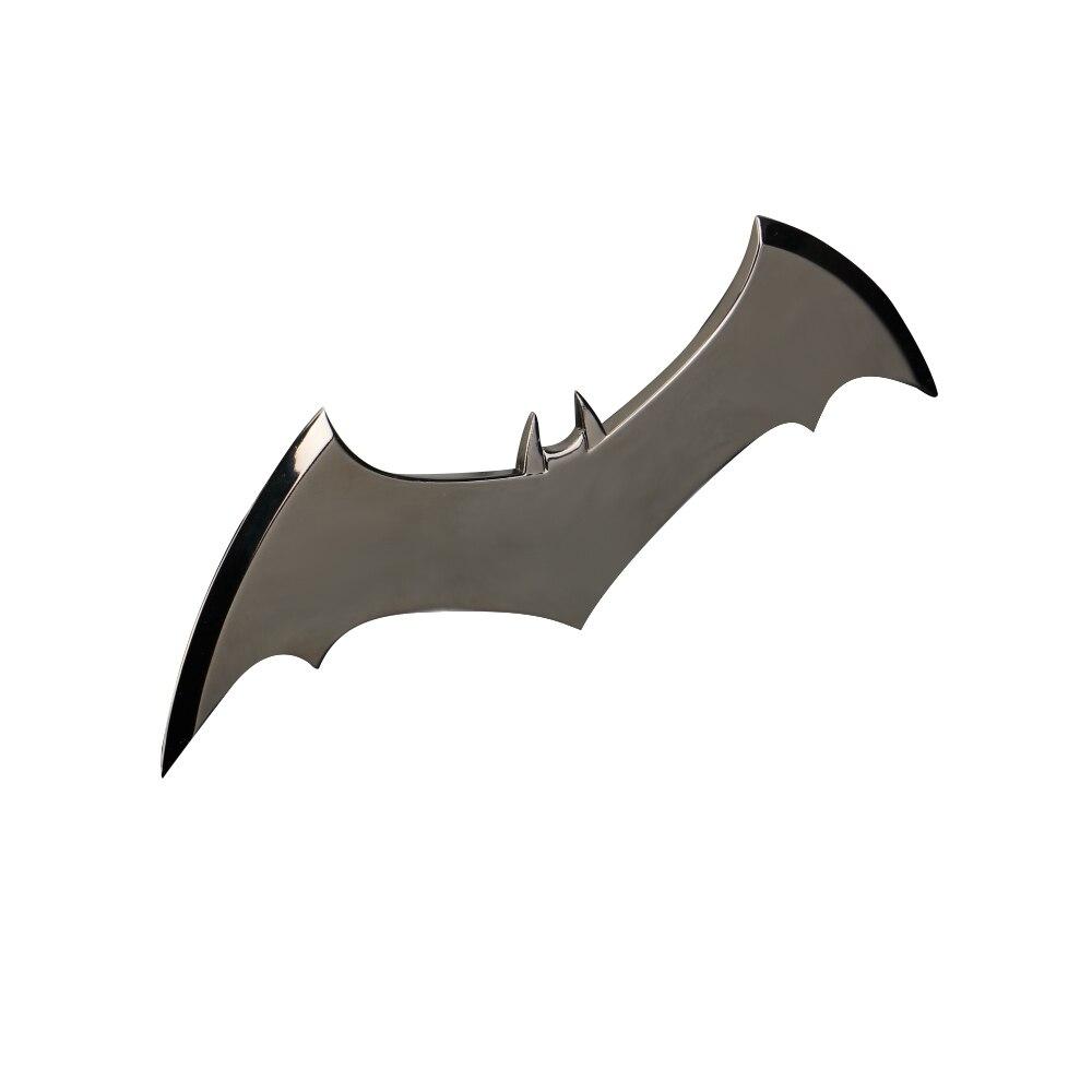 Shazam Batarangs Batman Dart Metal Batgirl Dart Superhero Weapon Cosplay Props (6)