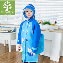 Cute Cartoon Outdoor Children Boys Girls Rain Coat Kids Rain Ponchot Jacket Waterproof Rain Coat Suit Children Raincoat(China)