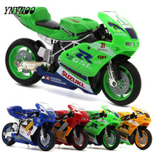 YNYNOO Scale 1:24 Limited Collector Motorcycle Model Series MotoGP Apulia Yamaha Motorcycle Toys Best Gifts Toys for Children