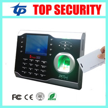 Fingerprint and RFID card time attendance time clock ZK TCP/IP biometric fingerprint time recorder recorder with ID card reader