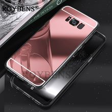 Buy Roybens Samsung Galaxy S7 Edge Case S6 Edge Plus Cover Luxury Bling Mirror Soft TPU Case Samsung Galaxy S8 Plus Cases for $2.49 in AliExpress store
