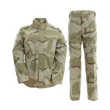 Tactical Paintball Uniform shirt +Pants DESERT BDU Camouflage Suit sets Military Airsoft Combat(China)