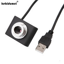 kebidumei Plug and Play Mini USB 30M Mega Pixel Webcam Video Camera Web Cam For PC Laptop Notebook Clip Worldwide Hot Drop(China)