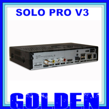 5pcs/lot SOLO PRO V3,solo pro v3 new DVB-S2 HD Linux Enigma2 Satellite Receiver support Blackhole,Openpli,Openvix Free shipping