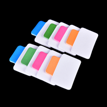 Note Information Tabs Labels Index sticky notes bookmark Color Stationery Office accessories School supplies Size 4.5*1.2 cm(China)