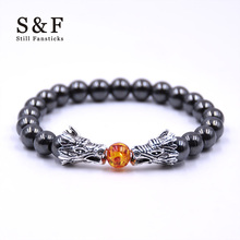 Buy Buddha Bracelet Men Bracelets Women Pulseira Masculina Mens Jewelry Dragon Bileklik Pulseira 8mm Stone Beads Elastic Braslet for $1.08 in AliExpress store