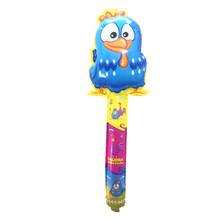 QGQYGAVJ Hand Stick Blue Chicken Foil Inflatable Balloons Party Decoration Air Balloon Children's Gifts(China)