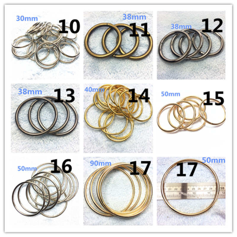 -30mm Non Welded Metal O Ring Nickel&Black Nickel Plated Backpack Collar Harness Rings Bag Parts Accessories_ (1)