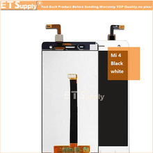 Repair Parts For xiaomi mi 4 m4 mi4 LCD Display Touch Screen Digitizer Replacement cell phone Assembly White(China)