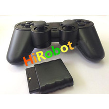 High Quality Black for PS2 Wireless Game Controller  for PS2 Wireless Controller Gamepad Free Shipping