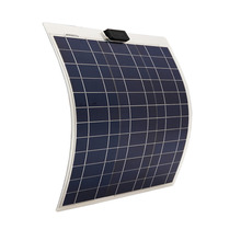 50W 12V solar panel ,soalr flexible panel, poly crystaline cells module For 12v battery,free shipping(China)
