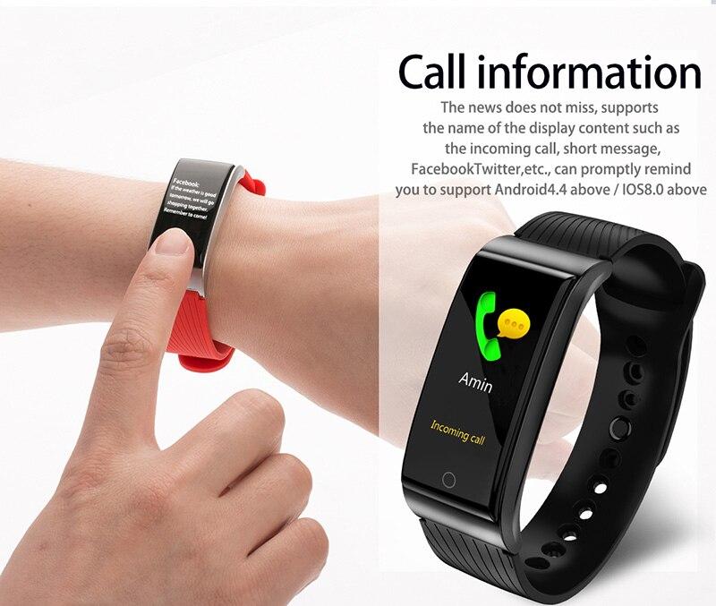 VERYFiTEK F4 Metal Smart Band Wristband Blood Pressure Heart Rate Monitor Men Women Fitness Watch Pedometer Smart Bracelet (19)