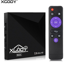 Xgody Android 6.0 Smart TV Box 1GB 8GB RK3229 Quad Core Wifi HD 4K Kodi 16.1 Netflix Media Player Internet IPTV Set-top Box(China)