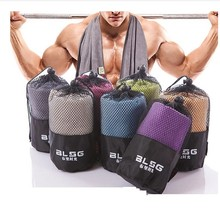 Sports Towel With Bag 30X100cm Larger Size Microfiber toalha de esportes Swimming Travel Gym Towel