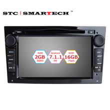 2 Din Android 7.1.1 Car DVD Player GPS Navigation For Vauxhall Opel Astra H G J Antara VECTRA ZAFIRA Quad Core 2GB RAM 16GB ROM