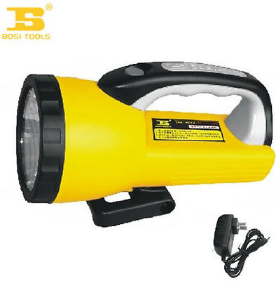 23 12 14cm Charging Glare Working Flash Light Yellow and Black<br>