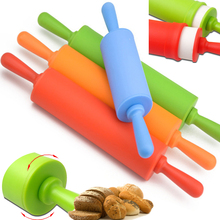 30 cm Non-stick fondant rolling pin for kids Fondant Cake Dough Roller Decorating Cake Roller crafts Baking cooking Tool