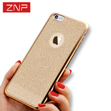 Plating TPU Soft Mobile Phone Case For iPhone 6 6s Plus Cover Cases Luxury Ultra Thin Clear Rubber for iphone 7 5 5s Cases