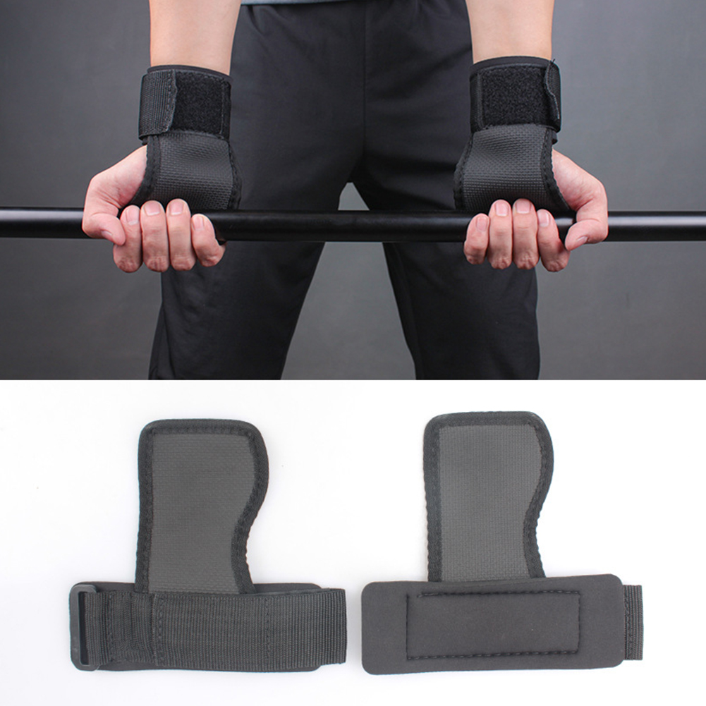 Pro Weight Lifting Gym Straps Grip Support Gym Training Bodybuilding Fitness