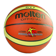 Molten Basketball GY7 Offical Size 7 PU Leather Basketball Ball Outdoor Training Basket Ball With Free Gifts Net Bag+ Needle