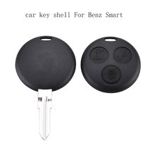 3 Buttons Replacement car Remote Key Shell SMART Fortwo key shell Mercedes Benz Case Hot Sale+Blade