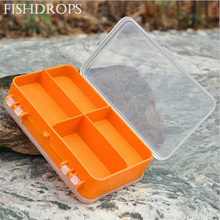 Waterproof Carp Fishing Box Accessories Eco-Friendly Fishing Tackle Lure Bait Tackle Storage Box Case Container Free Shipping(China)