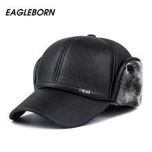 2019 de los hombres sombrero de la PU de la alta calidad gorras de béisbol  snapback hombres exquisito hueso sombreros chapeu con. e3d84aacdb3