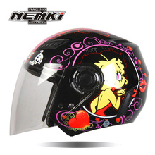 NENKI motorcycle helmet he him; male and female electric helmet The four seasons of summer portable safety