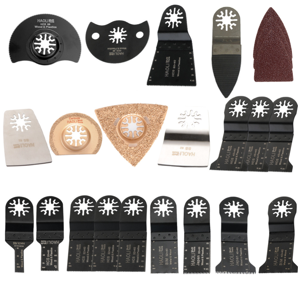 45 pcs Oscillating Multi Tool saw blades fit for TCH,Fein,Dremel etc,lowest price,wood metal cutting,power tool accessories<br><br>Aliexpress
