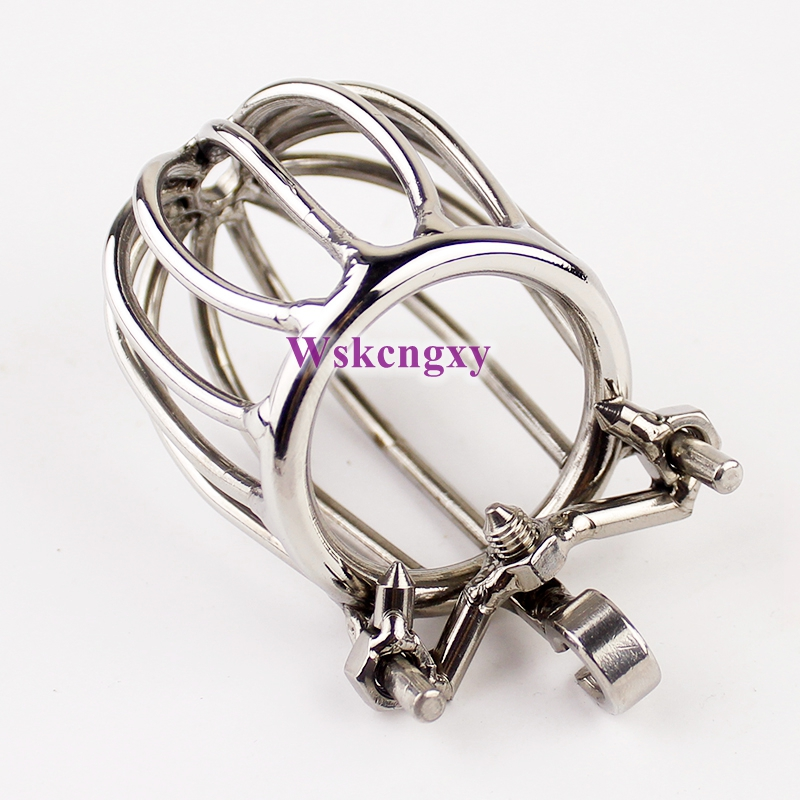 NEW Stealth Lock Chastity Cage Stainless Steel Male Chastity Device Sex Toys Men Penis Lock Cock Ring,Adult Games