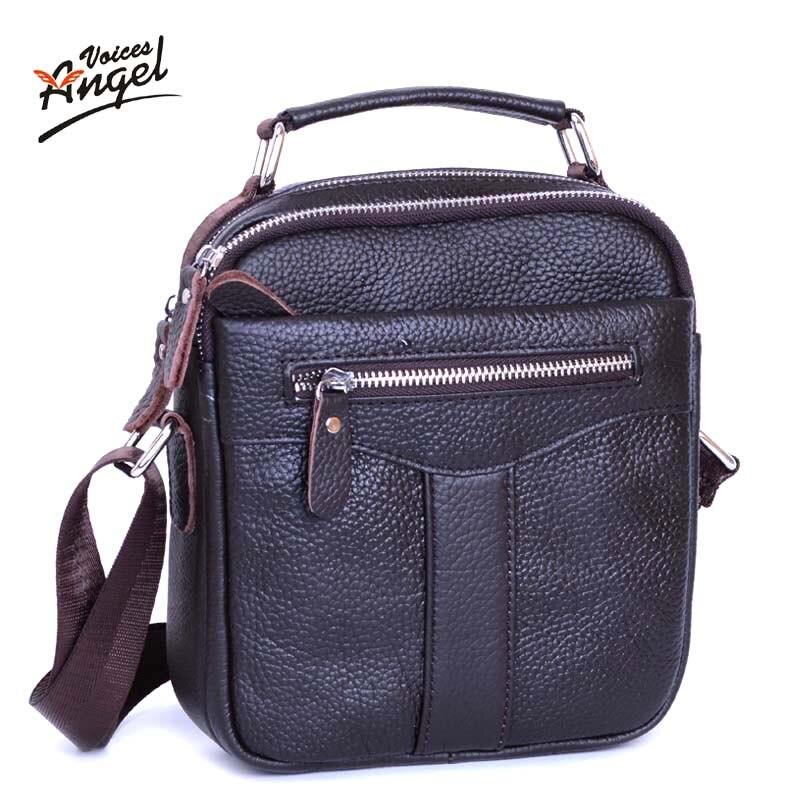 2017 Fashion New Handbags Men Messenger Bags Mens Vintage Shoulder Crossbody Bag Male travel Genuine Leather Small Bag<br><br>Aliexpress