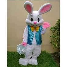 2017 Sell Like Hot Professional Easter Bunny Mascot Costumes Rabbit Adult Free Shipping(China)