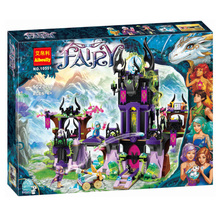 2017 New Bela10551 Elves Wizard Series 41180 Laguna Dark Magic Castle Diy Blocks Toys Compatible with Lepin 41180 Block Toys