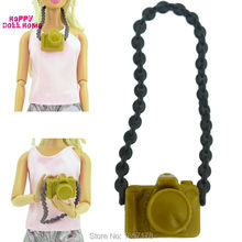 3 Pcs/Set New Fashion Doll Accessories Plastic Camera For Barbie Doll DIY Camera For BJD Doll For Monster high Doll Toys