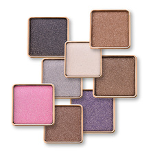 makeup Brand 15 Colors Single Metallic Eye Shadow Makeup Palette Nude Shimmer Matte Pigmented Glitter Eyeshadow Cosmetics Set(China)