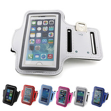 Mobile phone bag sports bag For iPhone 5 5G 5S 4 4G 4S 3G 3GS for Samsung Galaxy S4 mini s3 mini G130 Ace 4 3 ArmBand Case(China)