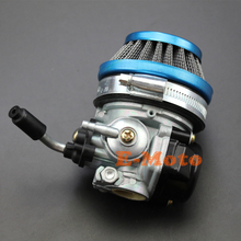 High Performance Carburetor Carb 60mm Air Filter For 2-Cycle 49cc 50cc 60 66 80cc Motorized Bicycle new E-Moto