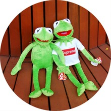 40cm 2015 new kermit the frog plush toys Sesame Street dolls animal Kermit Toy plush frog action figure home decoration