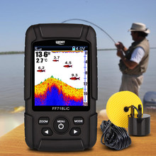 "LUCKY FF718LiC-T 2.8"" Color LCD Portable Fish Finder 328ft/100m Detection Depth Finder(China)"