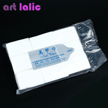Artlalic 900 Pcs / lot Nail Art Wipes Lint Paper Pad Polish Cleaner Remover Manicure Nail Clean Wipes Cotton