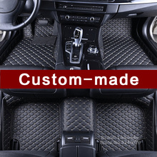 Custom fit car floor mats for Mercedes Benz CL class C216 coupe all weather luxury PVC leather high quality carpet rugs liners(China)